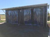 Weidehütten und Außenboxen stationär