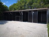 Weidehütten und Außenboxen fahrbar oder stationär